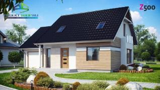 Проект дома Проект z114, 150.3 м2
