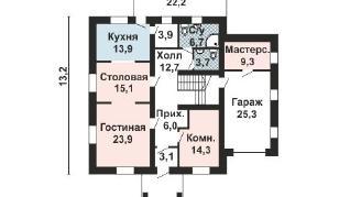 Проект дома AS-2175, 363 м2