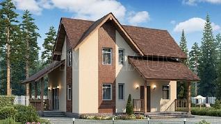 Проект  Дом ОМЕГА, 166 м2