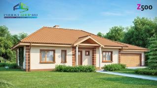 Проект дома Проект z86, 183.2 м2