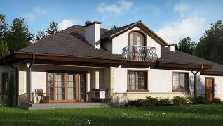 Проект дома Проект Z10, 272.1 м2
