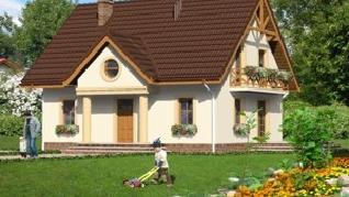 Проект  Дом в клубнике 2, 136.1 м2