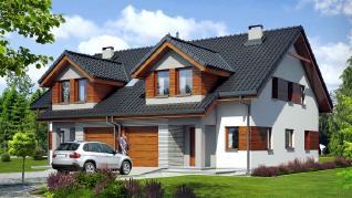 Проект  Дом в клематисах 12 (Б), 137.9 м2