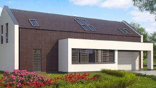 Проект дома Проект Zx48, 248.2 м2