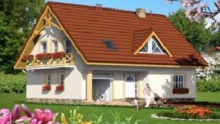 Проект  Дом под фикусом, 161.6 м2