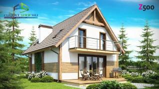 Проект дома Проект z45, 119 м2