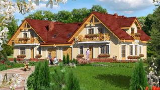 Проект  Дом в рододендронах 3 (ГБ), 141.8 м2