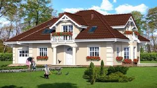 Проект  Дом в эхинацеях 2, 197.2 м2