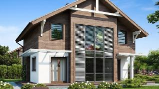 Проект дома Проект Z47, 122.1 м2