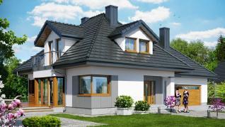 Проект  Дом в чернушке 2 (Г2), 221.8 м2