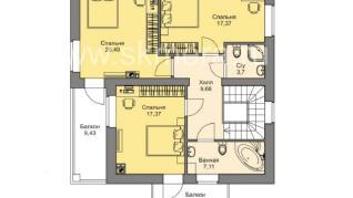 Проект дома M193, 168 м2