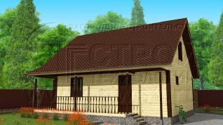 Проект дома Проект дома №35, 75 м2