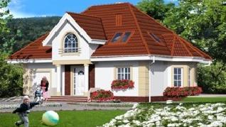 Проект  Дом в глициниях, 155.9 м2