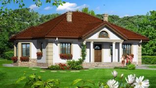 Проект  Дом под красной рябиной 6, 127 м2