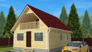 Проект дома Проект дома №75, 60 м2