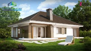 Проект дома Проект z205, 157.8 м2