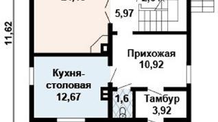 Проект дома AS-2126-2, 162 м2