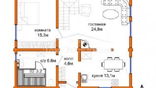 Проект дома Проект ДН-191, 190.14 м2