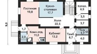 Проект дома AS-2178, 256 м2