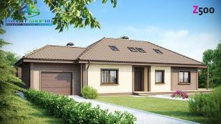 Проект дома Проект z90, 206.4 м2