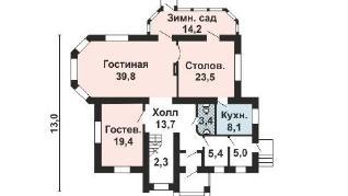 Проект дома AS-2187, 369 м2