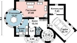 Проект дома AS-2218, 167 м2