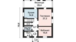 Проект дома AS-2211, 244 м2