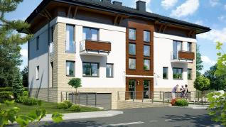 Проект  Дом в саговниках 3 (Б), 290.8 м2