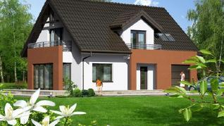 Проект  Дом в мискантусе, 161.4 м2