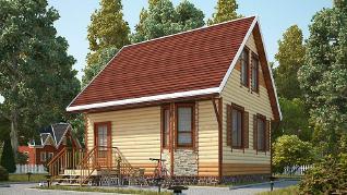 Проект дома Народный-11, 66 м2