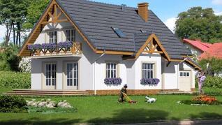 Проект  Дом в горошке 2, 145.6 м2