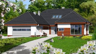 Проект  Дом в хеномелесе, 264 м2