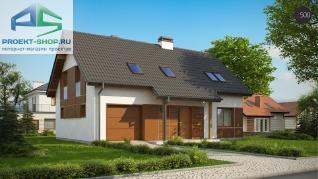 Проект дома Проект z178a, 182.3 м2