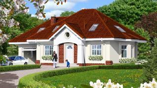 Проект  Дом в лотосах (Г), 138.8 м2
