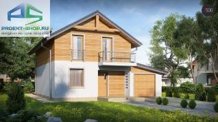 Проект дома Проект z38dgp, 138.9 м2