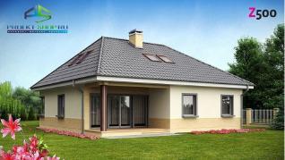 Проект дома Проект z84, 233.6 м2