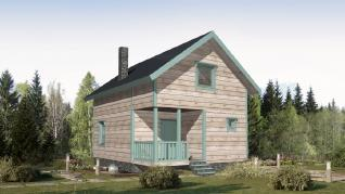 Проект дома КП-008, 96.3 м2