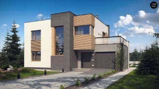 Проект дома Проект zx59, 147.2 м2