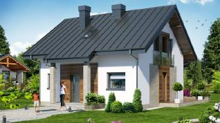 Проект  Дом Миниатюрка (Н), 106.2 м2