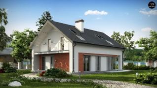 Проект дома Проект z215, 151.8 м2