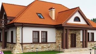 Проект дома Проект Z46, 293.2 м2
