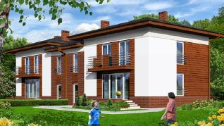 Проект  Дом в мирте 3, 145.2 м2