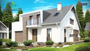 Проект дома Проект z116, 202 м2