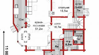 Проект дома Проект ДН-259, 258.72 м2