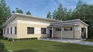 Проект дома Рикки, 176 м2