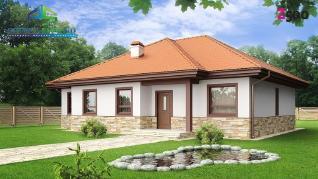 Проект дома Проект z23, 110.9 м2