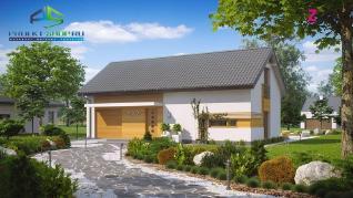 Проект дома Проект z232, 158.1 м2