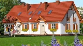 Проект  Дом в землянике 2, 89.9 м2