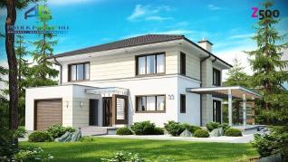 Проект дома Проект zx33, 203.2 м2