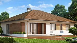 Проект дома Проект Z203, 158 м2